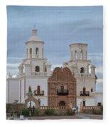 The Missioin Of San Xavier 10 Fleece Blanket