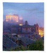 The Mists Of Soriano Fleece Blanket
