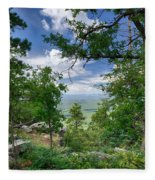 The Mogollon Rim  Fleece Blanket