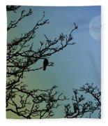 The Morning Moon Fleece Blanket