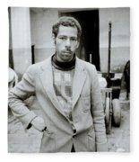 The Moroccan Farmer Fleece Blanket