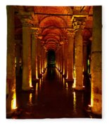 The Most Romantic Place Of Istanbul Fleece Blanket