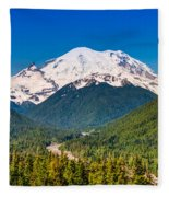 The Mountain And The Valley Fleece Blanket