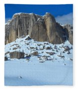 The Mountain Citadel Fleece Blanket