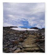 The Muir Trail Fleece Blanket