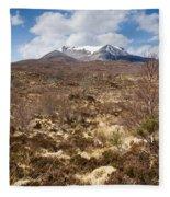 The Munro Of Sgurr Nan Fhir Duibhe Fleece Blanket