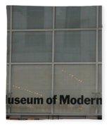 The Museum Of Modern Art Fleece Blanket