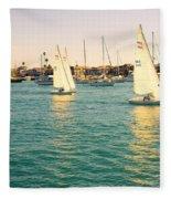 The Mystery Of Sailing Fleece Blanket