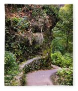 The Narrow Path Fleece Blanket