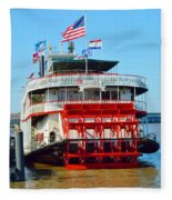 The Natchez 1 Fleece Blanket