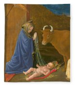 The Nativity Fleece Blanket