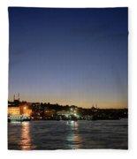 Istanbul Nights Fleece Blanket