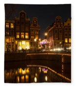 The Nine Streets Amsterdam Fleece Blanket