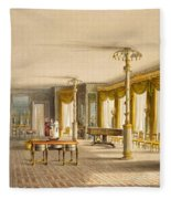 The North Drawing Room, Or Music Room Fleece Blanket