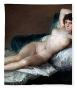 The Nude Maja Fleece Blanket