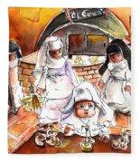 The Nuns Of Toledo 02 Fleece Blanket
