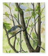 The Nuthatch Fleece Blanket