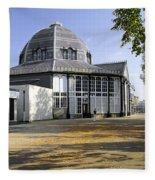 The Octagon - Buxton Pavilion Gardens Fleece Blanket