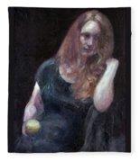 The Offering - Sale On Original Painting - Framed  Fleece Blanket