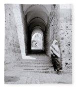 The Old City Of Jerusalem Fleece Blanket
