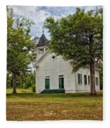 The Old Country Church Fleece Blanket