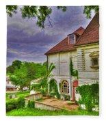 The Old Dugout - Leavenworth Va Fleece Blanket