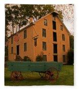 The Old Grist Mill Fleece Blanket