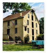 The Old Grist Mill  Paoli Pa. Fleece Blanket
