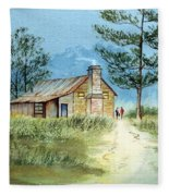 The Old Homestead Fleece Blanket