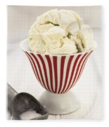 The Old Ice Cream Shoppe Fleece Blanket