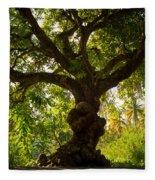The Old Mango Tree Fleece Blanket