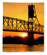The Old Mighty Span Fleece Blanket