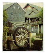 The Old Mill Fleece Blanket