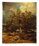 The Old Oak Fleece Blanket