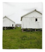 The Old Pierce Point Ranch At Foggy Point Reyes California 5d28140 Fleece Blanket