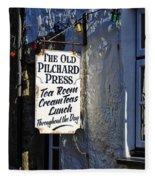 The Old Pilchard Press Fleece Blanket