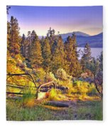 The Old Resting Place Fleece Blanket
