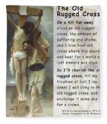The Old Rugged Cross Fleece Blanket