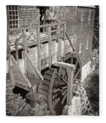 The Old Saw Mill Fleece Blanket