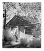 The Old Spring House Fleece Blanket
