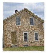 The Old Stone House Fleece Blanket