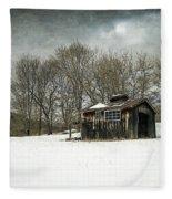 The Old Sugar Shack Fleece Blanket