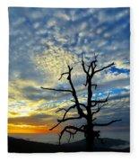 The Old Tree Fleece Blanket