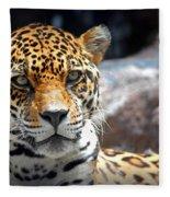 The Ole Leopard Don't Change His Spots Fleece Blanket