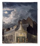 The Olympic Theatre, 1826 Fleece Blanket