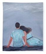 The One I Love Fleece Blanket