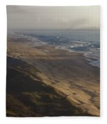 The Oregon Coastline Fleece Blanket