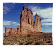 The Organ, Arches National Park, Utah Fleece Blanket
