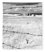 The Other Side Of The Fence Fleece Blanket