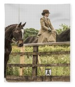 The Other Side Of The Saddle Fleece Blanket